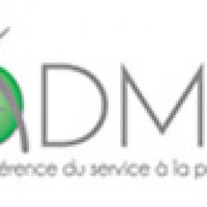 Logo ADMR - UDAF 08 - Union départementale des associations familiales des Ardennes