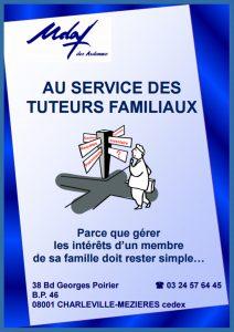 Plaquette au service des tuteurs familiaux - UDAF des Ardennes