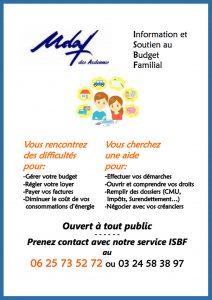 Plaquette information et soutien au budget familial - UDAF des Ardennes