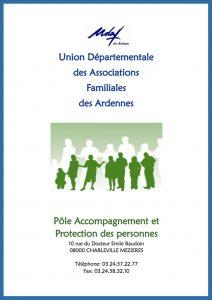 Plaquette pôle accompagnement et protection des personnes - UDAF des Ardennes