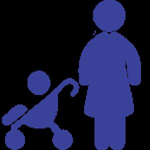 Icon mère enfant - UDAF 08 - Union départementale des associations familiales des Ardennes