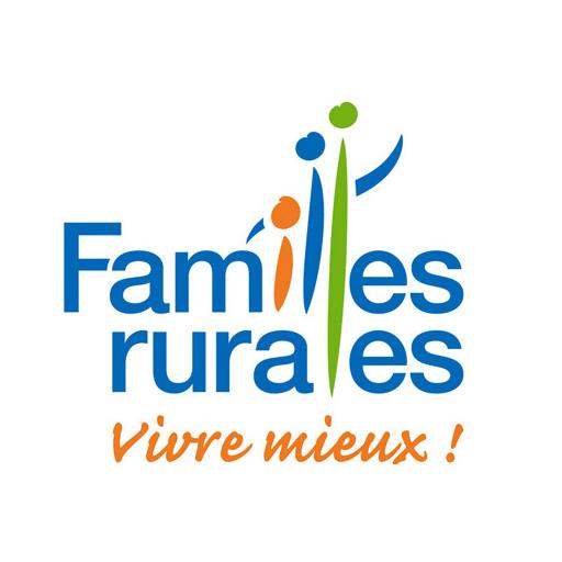 Logo familles rurales - UDAF 08 - Union départementale des associations familiales des Ardennes